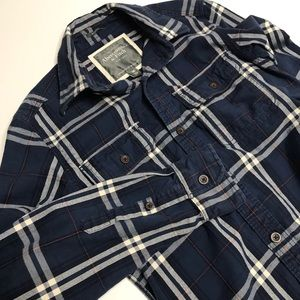 Abercrombie & Fitch Muscle Flannel Shirt sz M